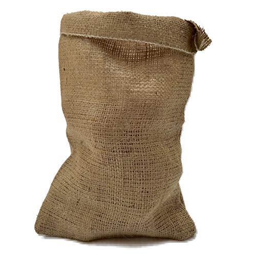 Nutley's Lot de 3 Sacs à gousses d'ail Toile de Jute Fermeture par Cordon 14 x 20 cm