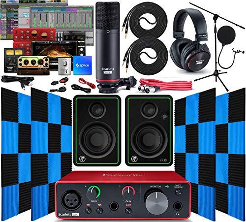 Focusrite Scarlett Solo 2x2 USB Audio Interface with Creative Music...