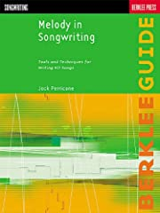 """182 pages Size: 12"""" x 9"""" Composer: Jack Perricone ISBN: 063400638X Fine-tune your craft and start writing hits with this comprehensive songwriting tutorial! Melody in Songwriting provides you with incredible songwriting techniques, tips, and strategi..."""