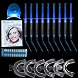 Home Professional Teeth Whitening Kit Packed with 9 Pieces Whitening Gel 6 Pieces