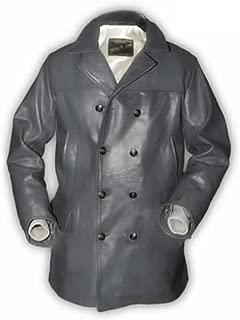 Men's U-Boat Leather Coat