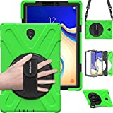 Samsung Galaxy Tab S4 Tablet Case with Rotating Handle...