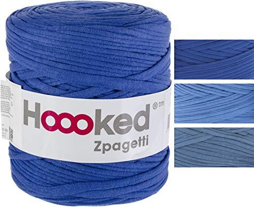 Hoooked Zpagetti Yarn-ocean Blue - Mid Blue Shades
