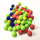 Redsa 200 Stück Nachfüllkugeln, bunt, rund, Ersatzkugeln, kompatibel mit Kindern,...