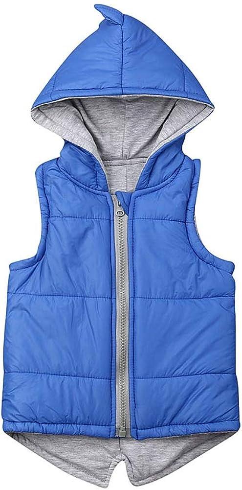 Lowest price challenge 6M-7T Toddler Baby Girl Boy Waistcoa Weekly update Hoodie Vest Sleeveless Coat