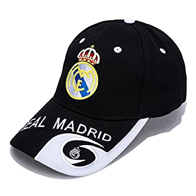 Real Madrid Club Embroidered Hat Baseball Cap Adjustable Cap Soccer Fans
