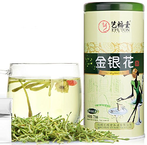 70g Healthy 100% Organic Dried Lonicera Japonica Chinese Yifutang Tea