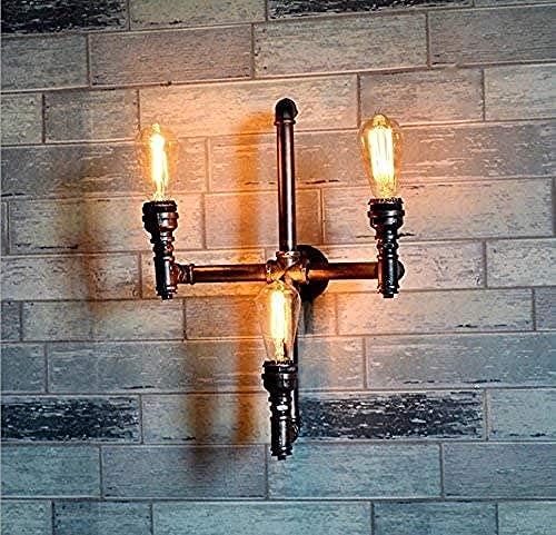 DIY/creativo decoración del hogar retro europeo industrial Feng Shui tubo de iluminación bar web café decoración decoración