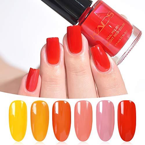 KADS Oil Jelly Nail Polish Nail Polish Set Nail Design Manicure and Pedicure Polish (Set 1)