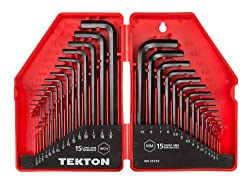 Tekton 30-Piece Hex Key Wrench Set