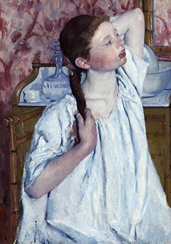 Puzzle 1000 Teile - Mary Cassatt: Girl Arranging Her Hair, 1886
