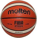 MOLTEN BGGX Parallel Pebble - Pelota de Baloncesto, Color Naranja, Talla 6 cm