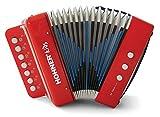 Hohner Kids UC102R Juguete musical efecto acordeón