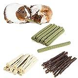 300 g hámster Natural Snack Kit Palillos de manzanas Timothy Hay dulce bambú...