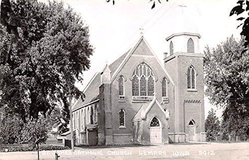 St James Catholic Church postcard Import Lemars Iowa Deluxe