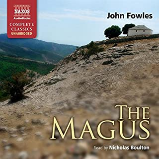 The Magus audiobook cover art