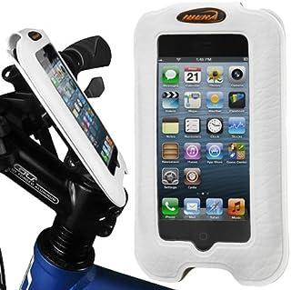 Ibera Stem Mount Bicycle iPhone Case, 4-Inch Screen, White