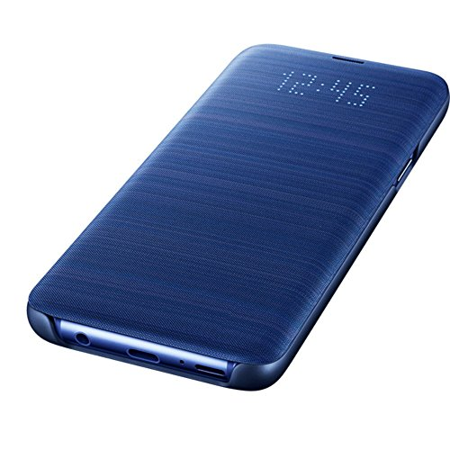 Samsung LED View Cover (EF-NG960) für das Galaxy S9, Blau