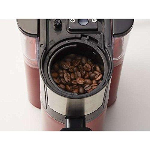コイズミ全自動コーヒーメーカーレッドKOIZUMIKKM-1001-R