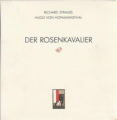 Programmheft Neuinszenierung Der Rosenkavalier Premiere 30. Juli 1995 Salzburger Festspiele