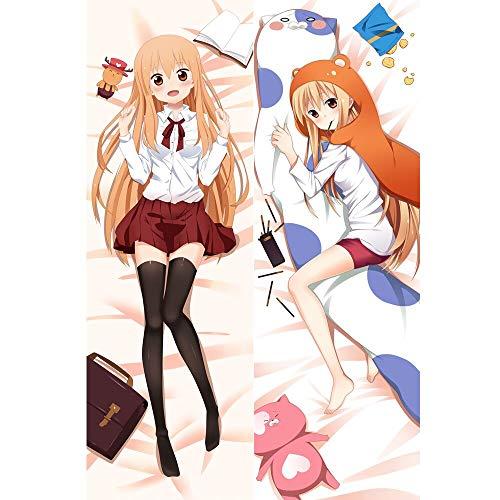 Diuangfoong Funda de almohada para cuerpo Himouto! Umaru-chan Doma Umaru & Sylphynford Nanan Soft and Cozy SL9 50,8 x 149,9 cm