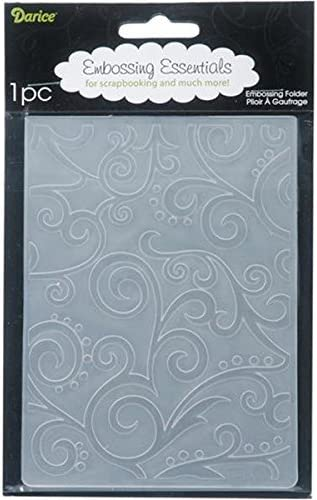 4.25x5.75 Darice Embossing Folder DIAMOND PLATE Pattern Background 1218-101