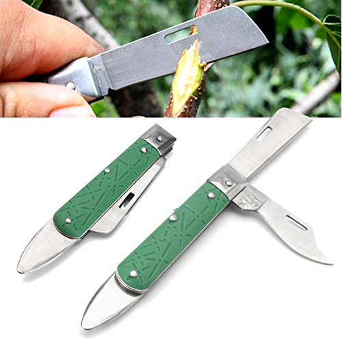 Katoot@ Garden Tree Knife Seedling Budding Grafting Cutter Foldable Plant Bark Cutting Tools Blade Plants Bonsai Gardening Tools Pruning