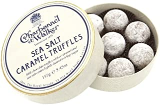 Charbonnel et Walker - Milk Sea Salt Caramel Truffles 4.2 oz by Charbonnel et Walker