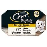 Cesar Multipack de Tarrinas de Comida Húmeda para Perros en salsa, Selección Recetas campesinas (Pack de 6 x 4 tarrinas x 150g)