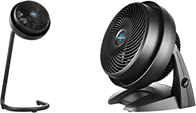 Vornado 783 Full-Size Whole Room Air Circulator Fan with Adjustable Height & 630 Mid-Size Whole Room Air Circulator Fan