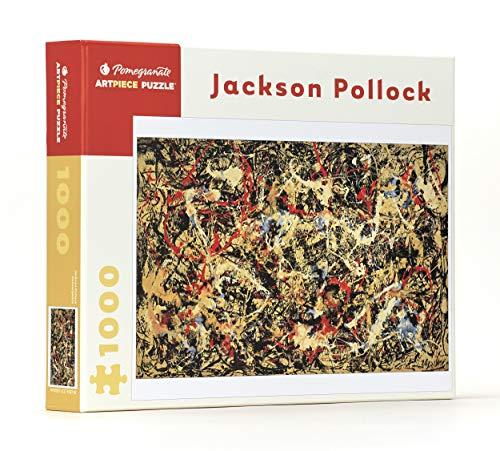 Jaskon Pollock - Convergence: 1,000 Piece Puzzle (Pomegranate Artpiece Puzzle)