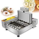 CGOLDENWALL NP-6 Máquina de Hacer Rosquilla Automático de Seis Filas con Clindro de Material & Freidora丨Tres Moldes de Donuts 45mm - Produccón de 1200 PCs/h