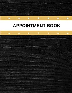 Appointment Book: Appointment Organiser Journal Record For Doctors Medical Consultant Undated 100 sheets to record Weeks Monday To Friday 8AM To ... Record Planner Log Book Series) (Volume 8)