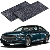 2PCS Nano Sparkle Cloth for Car Scratches, Nano Magic Cloth Scratch Remover with Disposable Gloves, Easily Repair Paint Scratches and Water Spots