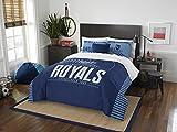 MLB Kansas City Royals Full Comforter and Sham Set, Full/Queen