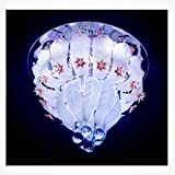 Jhoomar Ceiling Light Decorative Chandelier with Three Color, Sound System and Bluetooth.