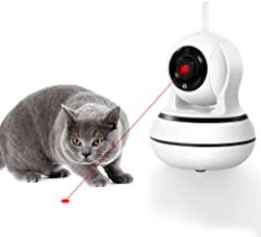 DOGCOOL [New 2019] Smart Pet Camera,FHD 1080p Dog Camera with Interactive Laser Toy,360° Pet Monitor Cat Camera Sound Alerts& Auto Tracking,Night Vision