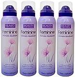 4X Beauty Formulas Feminine Intimate Deodorant 150ml