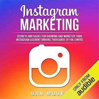 Instagram Marketing audiobook cover art