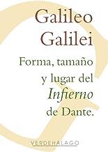 Forma, tamaño y lugar del Infierno de Dante.