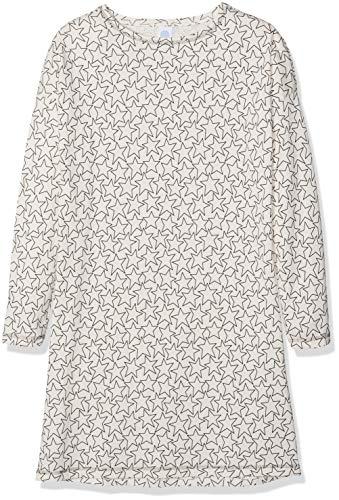 Sanetta Mädchen Sleepshirt Allover Nachthemd, Pink (Bridal Blush 3997.0), 140
