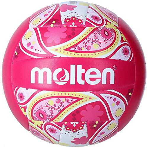 MOLTEN V5b1300 Balón De Voleibol, Unisex Adulto, Rosa, Talla Única