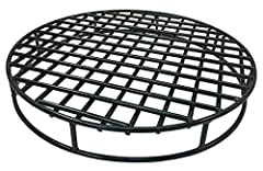 """HEAVY DUTY - This fire pit grate is made from special high carbon hardened steel which is 45% stronger than common steel. With its 29.5"""" diameter and ½ Inch steel it fits in just about any large fire pit. Great for 30 inch fire pits HOTTER and BRIGHT..."""
