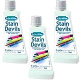 Dr Beckmann Stain Devils - Bolígrafo de tinta y removedor de punta de fieltro (3 x 50 ml)