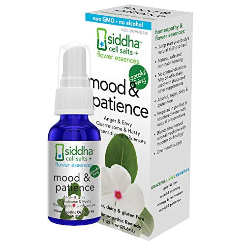 Siddha Remedies Mood & Patience Spray for Mood Boost, Mood Support, Relax Anxiety & Ease Tension, Irritability | Non GMO Homeopathic Remedy w/Flower Essences for Emotional Support | No Alcohol, Sugar (Best Of Kumar Sanu Hindi Webmusic)