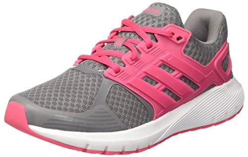 adidas Duramo 8 w, Zapatillas de Running para Mujer, (Grey Three/Real Pink/Real Pink 0), 38 EU