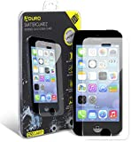 iPhone SE / 5 / 5S / 5C Aduro Shatterguardz Tempered Glass Screen Guard, Anti-Scratch, Anti-Fingerprint Coating, Ultra-Sensitive Touch Tech for Apple iPhone SE / 5 / 5S / 5C