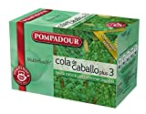 Pompadour - cola de caballo plus 3 - [pack de 3]