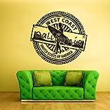 Adesivo surfista Adesivo tavola da surf Adesivo California Art West coast stamp Decor Decorazioni camera da letto Stencil Grafica Kids Boys Girls House Z806