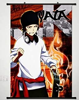K Project Wall Scroll Poster Fabric Painting for Anime Yata Misaki 015 S